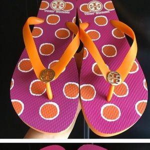 Tory Burch Flipflop Sandals excellent  ! Size 9